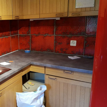 Before-Cuisine renovation